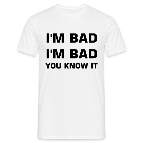 Bad wit - Mannen T-shirt