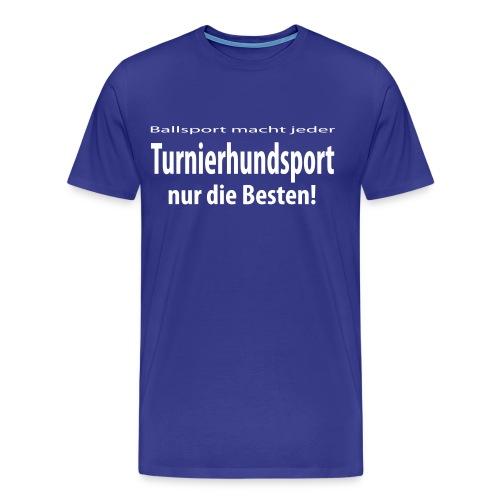 T-Shirt Turnierhundsport - Männer Premium T-Shirt