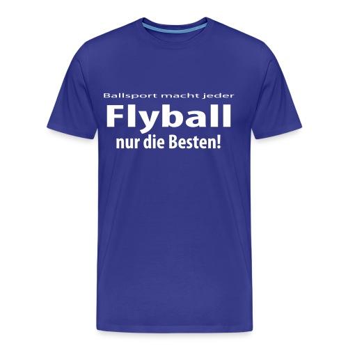 T-Shirt Flyball - Männer Premium T-Shirt