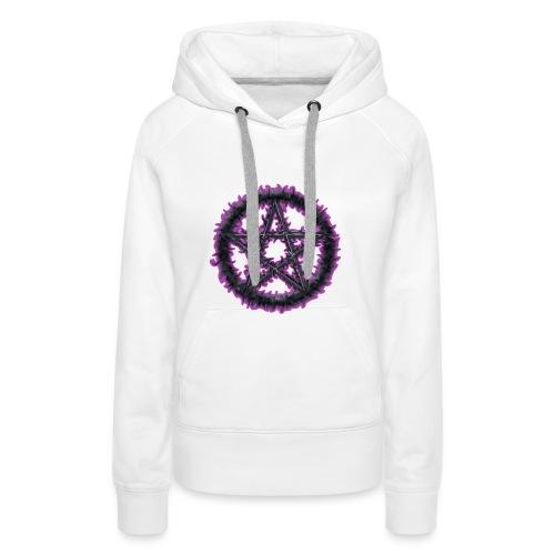 Purple Pentacle - Women's Premium Hoodie