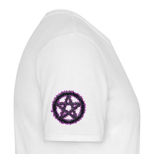 Purple Pentacle - Men's T-Shirt