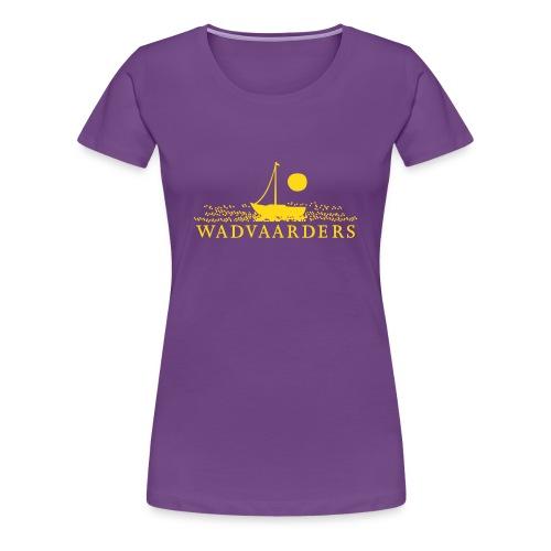 Vrouwen t-shirt/flock - Vrouwen Premium T-shirt