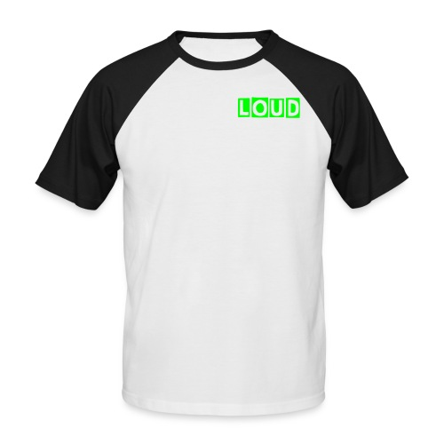 Loud tee shirt - Men's Baseball T-Shirt