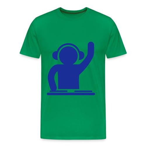 heren shirt met DJ sign - Mannen Premium T-shirt