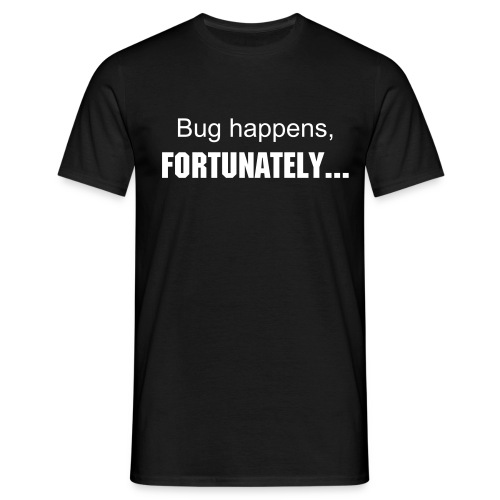 Bug happens  - T-shirt Homme