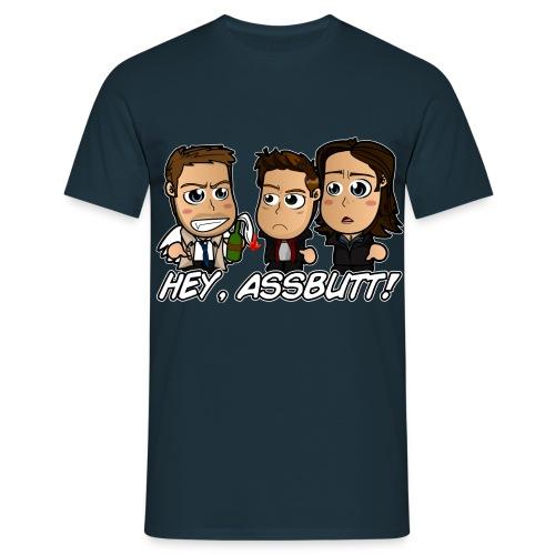 Chibi Supernatural - Hey Assbutt Shirt  - Men's T-Shirt