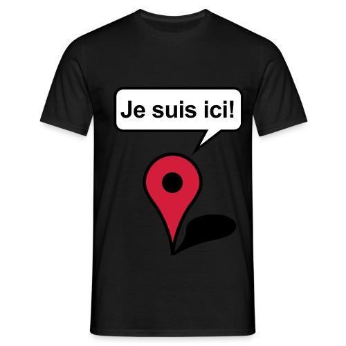 JeSuisIci - T-shirt Homme