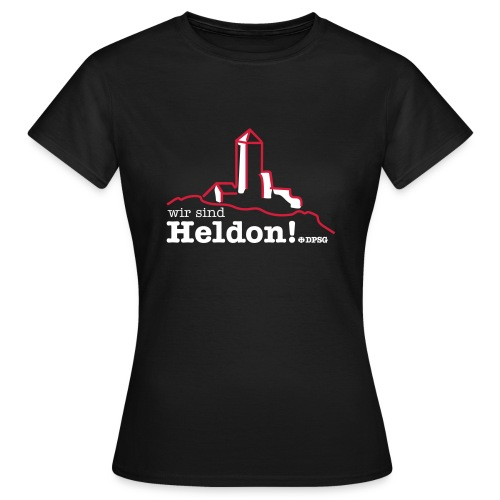 Heldon Girlie - Frauen T-Shirt