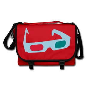 Shoulder Bag - Anaglypgh Glasses - Shoulder Bag
