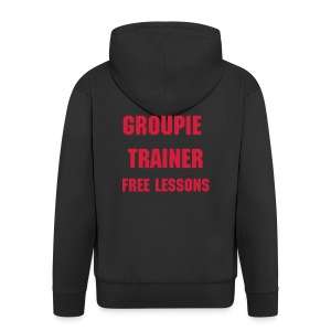 'Groupie Trainer' Gents hoodie - Men's Premium Hooded Jacket