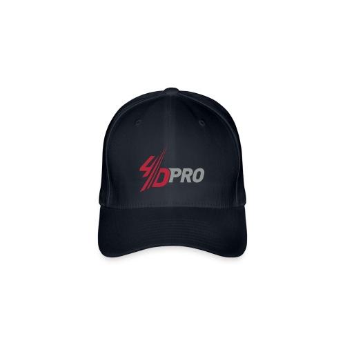 4D PRO Basballkappe Flex - HARD WORK IS NOW HARD FUN - Flexfit Baseballkappe