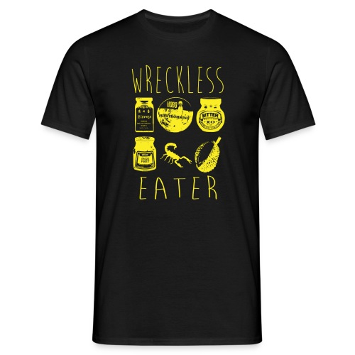 Wreckless Eater Shirt (Yellow) - Men's T-Shirt