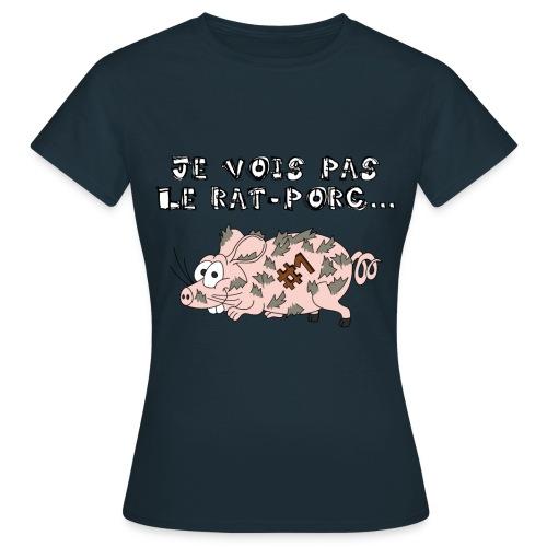 Rat-Porc Femme - T-shirt Femme