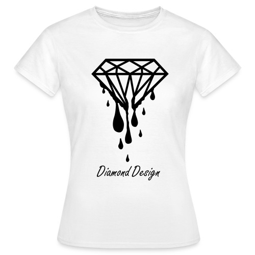 Original Diamond Design Womens T- Shirt - Women's T-Shirt