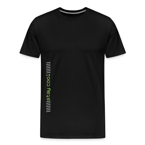 Stay cool T ( light print ) - Men's Premium T-Shirt