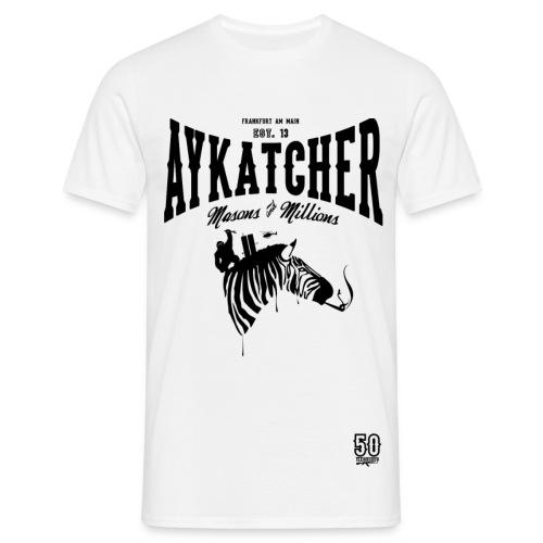 AYKATCHER ZEBRA - Männer T-Shirt