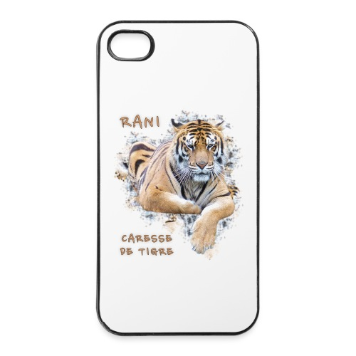 Coque iPhone 4/4S portrait Rani - Coque rigide iPhone 4/4s