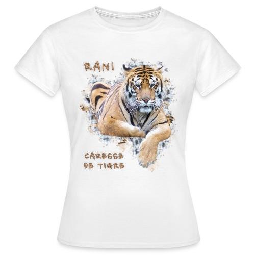 T-Shirt Femme portrait Rani - T-shirt Femme