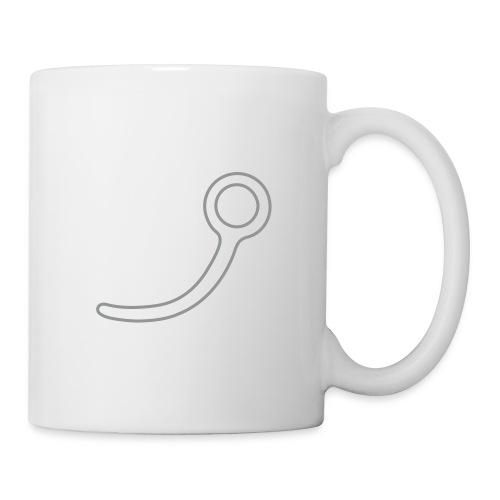 tasse - aiguille HD controur - Mug blanc