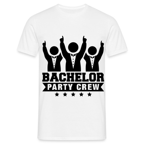 Bachelor Party Crew - T-skjorte for menn