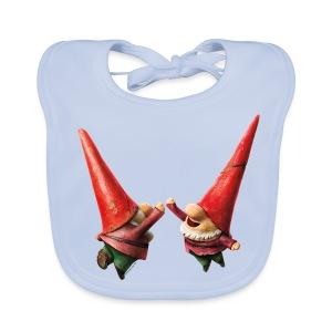 Hi Five Organic Bib from Gnomeo and Juliet the Movie - Baby Organic Bib