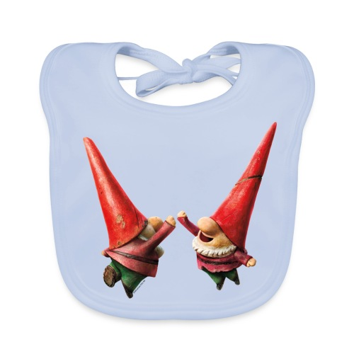 Hi Five Organic Bib from Gnomeo and Juliet the Movie - Baby Organic Bib