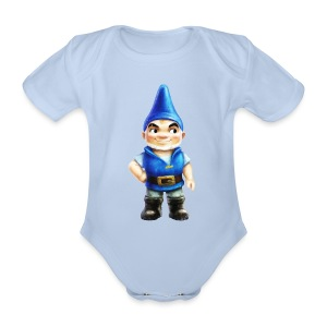Gnomeo Onesie from Gnomeo and Juliet the Movie - Organic Short-sleeved Baby Bodysuit