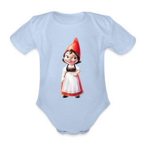 Juliet Onesie from Gnomeo and Juliet the Movie - Organic Short-sleeved Baby Bodysuit