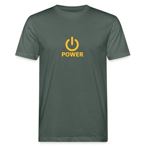 Power-Shirt - Männer Bio-T-Shirt