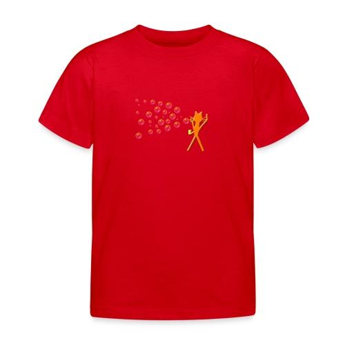 Kindershirt Katze Kittycat Seifenblasen - Kinder T-Shirt