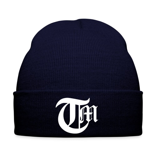 On-set initials hat - Vinterlue