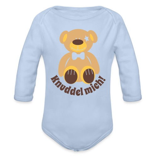Teddy - Baby Bio-Langarm-Body