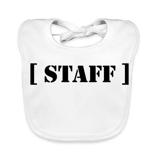 Bavoire bébé ( staff ) - Bavoir bio Bébé