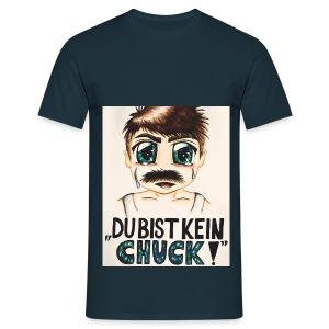 Du bist kein Chuck! (T-Shirt) Navy - Männer T-Shirt