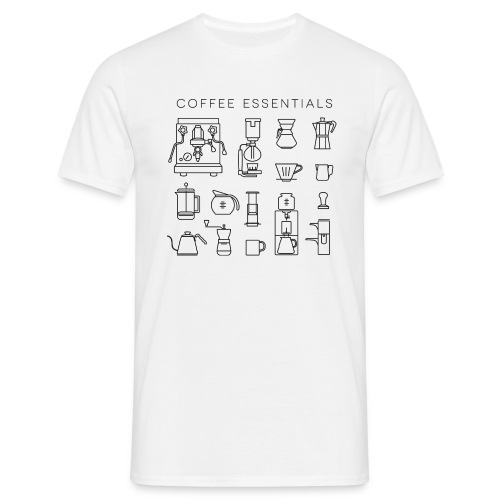 Coffee Essentials Men - Männer T-Shirt