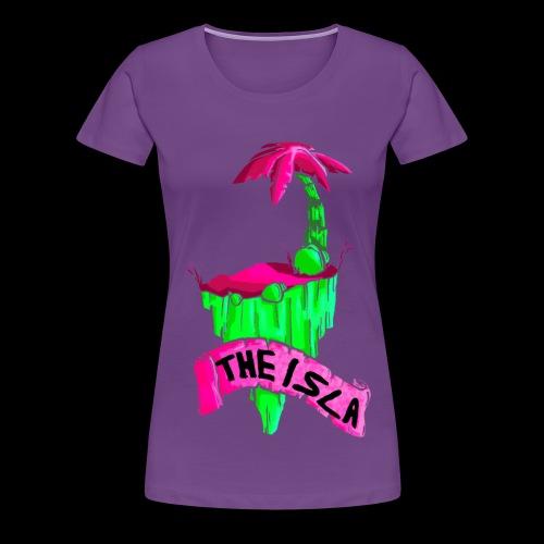 The isla fluo girl - Maglietta Premium da donna