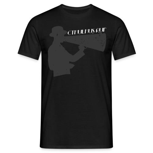 T-Shirt Flüstertüte Dunkel  - Männer T-Shirt