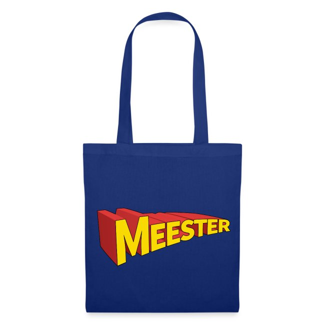 Meester is een held - Tas
