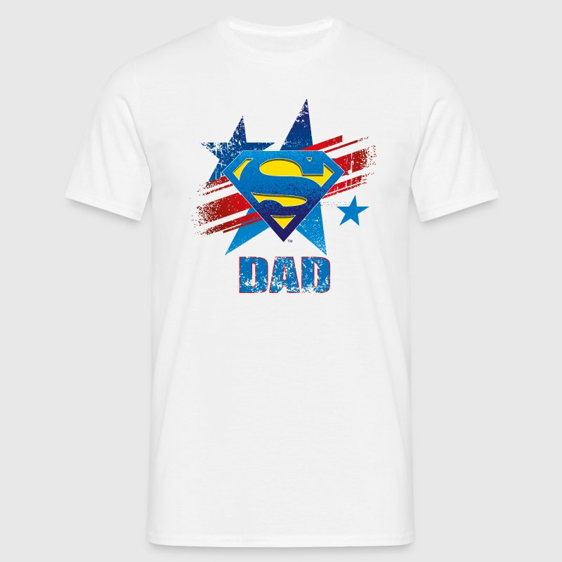 Superman 'S-Shield Dad' Men T-Shirt - Mannen T-shirt
