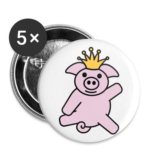 king pig badges - Buttons large 56 mm
