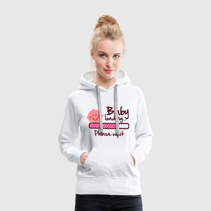 Baby loading - please wait Pullover & Hoodies - Frauen Premium Hoodie