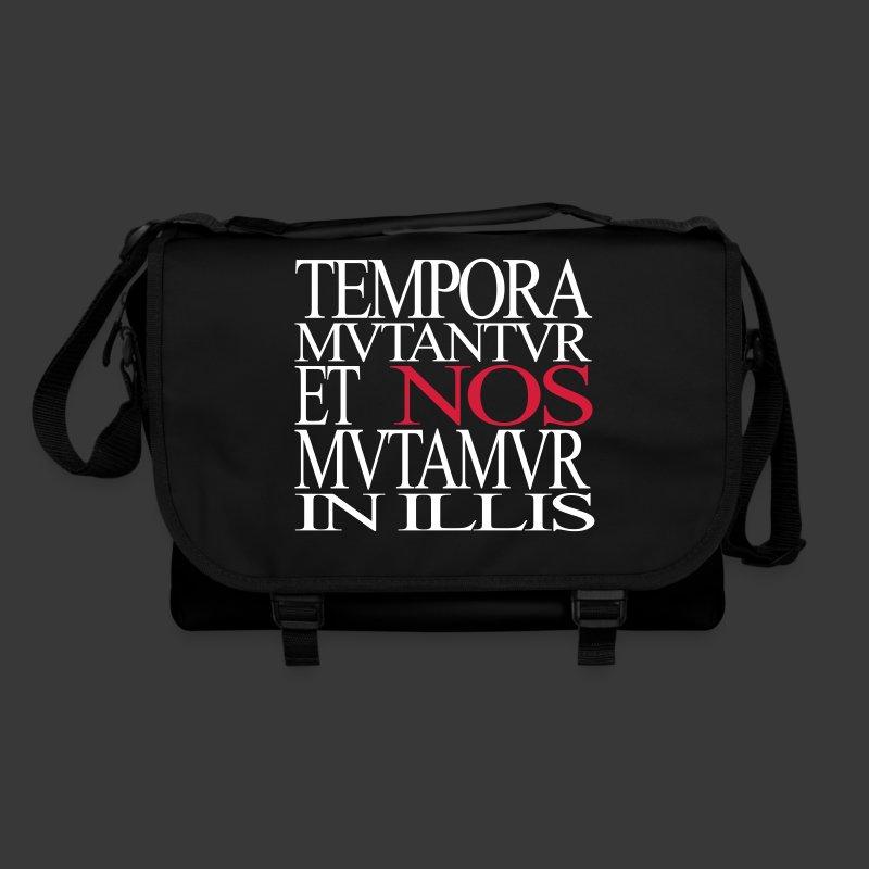 TEMPORA MUTANTUR ET NOS MUTAMUR IN ILLIS - Shoulder Bag