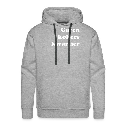 In da hooded sweater! - Mannen Premium hoodie