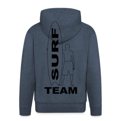 Surfing fashion team - Men's Premium Hooded Jacket