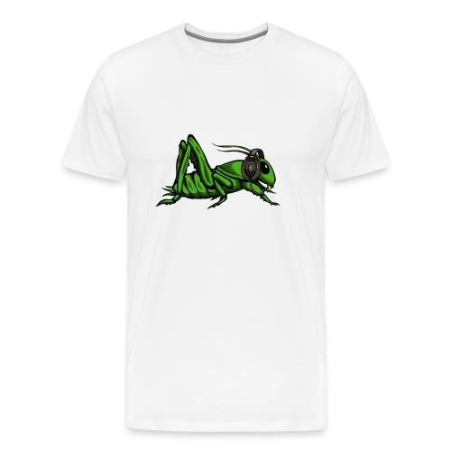 Men Shirt Insect + Logo - Men's Premium T-Shirt