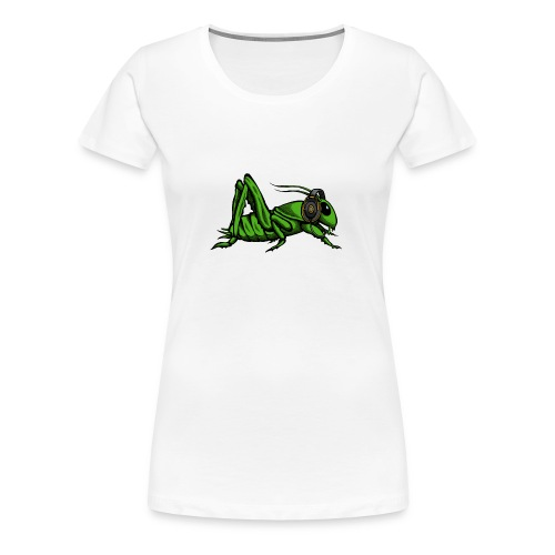 Women Shirt Insect + Logo - Women's Premium T-Shirt