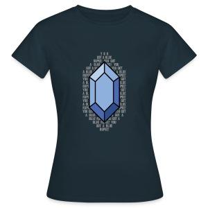 Blue Rupee (Women's) - Women's T-Shirt