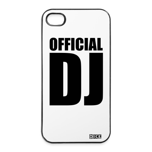 OFFICIAL-DJ - Coque rigide iPhone 4/4s