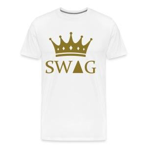 KoningSwag! (Man) - Mannen Premium T-shirt