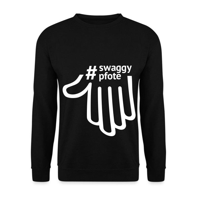 #swaggypfote Pulli (Schwarz) - Männer Pullover